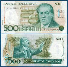 Brasil/Brazil 500 cruzados (1988) UNC p.212 D