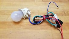 Haier Refrigerator Light Bulb Socket with Harness and Bulb From Model # HTQ21JAA