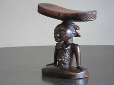 Art Africain - Superbe Appuie-nuque Luba Shankadi - Rép. Démocratique du Congo