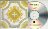 TOTAL BABES Heydays 2015 UK watermarked & numbered 8-track promo test CD