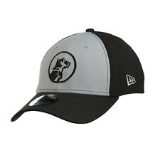 Mack Trucks 39THIRTY Flex fit Hat Grey & Black Embroidered Bulldog Dog Logo