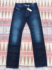 DIESEL Larkee Regular Straight Dark Blue Jeans Men's Size 32x36 New!