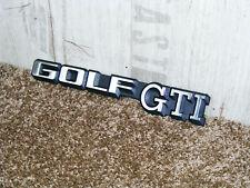 Original VW Emblem Schriftzug Heckemblem Golf II 2 GTI 16V mk2 KR PL 191853687 C
