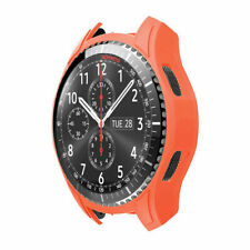 For Samsung Galaxy Watch 46mm Silicone Watch Case Cover Protector Bumper Frame