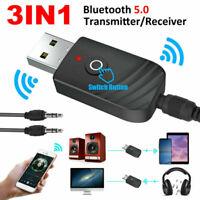 3-in-1 Bluetooth Adapter Transmitter und Empfänger TV PC Audio Sender 3.5mm NEU*