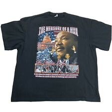 Martin Luther King Jr Barack Obama Shirt 3XL The Measure Of A Man Double Sided