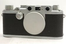 @ Ship in 24 Hrs! @ Leitz Leica IIIf Red Dial 35mm Film Rangefinder Camera Body