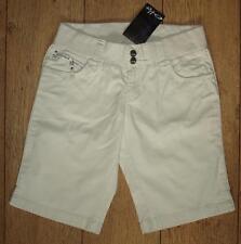 "BNWT Mujeres Oakley Flashback Stretch Shorts Pantalones Jeans W26"" UK8 Slim Fit"