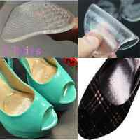 3 Pairs Amazing Soft Gel High Heel Shoe Front Pads Cushion Insoles Foot Care New