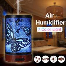 Iron Art LED Air Humidifier Aroma Essential Oil Diffuser Aromatherapy Home Room