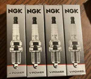 Lot Of 4 NGK Spark Plugs V-Power NGK 6376 New