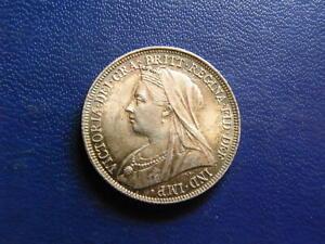 Victoria Silver Shilling 1900 S.3940A