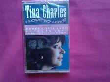 Rare K 7 / Cassette / Tina Charles – I Love To Love / FR 1987 / S