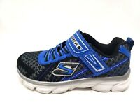 New!  Boy's SKECHERS ADVANCE 97651 Black/Blue 179i sm
