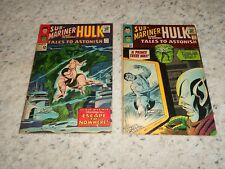 Tales To Astonish Featuring Sub-Mariner And The Incredible Hulk #71, #72 1965