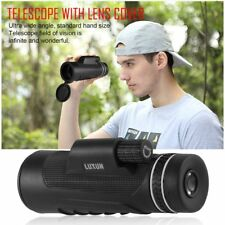 40x60 Monocular Telescope Zoom Outdoor HD Vision Hunting Military Monoculars DJ