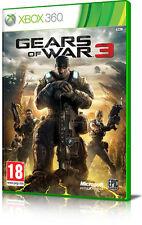 Gears of war 3  XBOX 360 completamente in ITALIANO