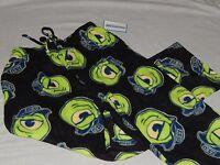 NEW Monsters Inc movie Disney Pixar Pajamas Lounge Sleep Pants Wazowski Size S M