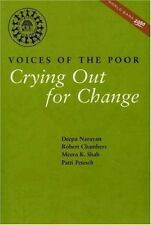 Voices of the Poor: Volume 2: Crying Out for Change (World Bank Public-ExLibrary