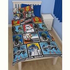 Star Wars 'Force ' Set Housse de couette simple NEUF Officiel