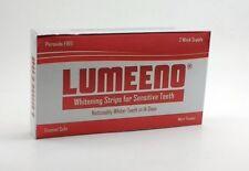 Lumeeno Zero Peroxide Gel Teeth Whitening Strips 28 Count - 14 Days No Peroxide