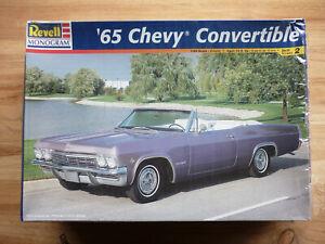 '65 Chevy Convertible. Model Kit 1/25 Revell-Monogram #85-2533