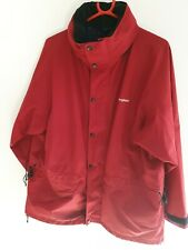 Berghaus Womens Size 16 Red Goretex Jacket Coat Waterproof