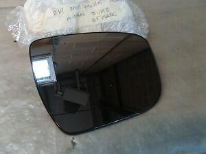 Nissen Juke R/H Door Mirror Glass.