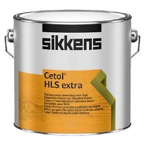 Sikkens Cetol HLS Extra - Holzlasur Holzschutzlasur - 0,5 L / 1 L / 2,5 L / 5 L