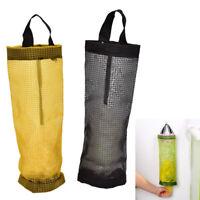 Grocery Bag Holder Wall Mount Storage Dispenser Plastic Kitchen Organizer OAZY