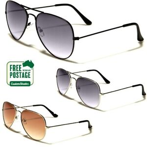 Air Force Series Sunglasses - Gradient Lens - Men's / Women's - Pilot Frame