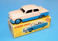 Dinky Toys No.170 Ford Fordor Sedan Blue / Cream Original Boxed EX!!