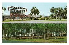 Perry FL Westgate Mobile Home Park Chrome Postcard 1960s