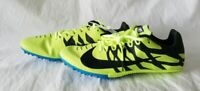 Nike Zoom Rival S NEW Mens Racing Track&Field Sprint Shoes Black Yellow Size 9.5