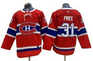 Adidas Carey Price 31 Montreal Canadiens Pro Jersey NHL Adizero Domicile Jersey