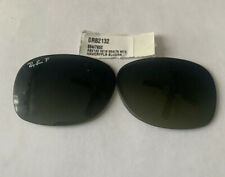 Ray-Ban RB2132 New Wayfarer Sunglasses, 55mm Green Clear / Grey Gradient