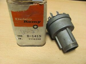 NOS 61 62 Olds F85 Pontiac Tempest Delco Ignition Switch 1116590 D-1415 D1415