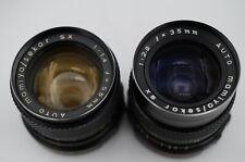 MAMIYA SEKOR SX 1,4/55+2,8/35 M-42 - SHC Art.757520