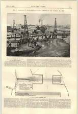 1900 assiout Fuoco di sbarramento betonaggio in Cisgiordania carburante liquido Robert W R.