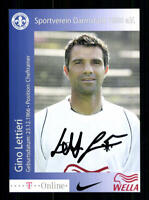 Gino Lettieri Autogrammkarte SV Darmstadt 2006-07 Original  + A 189742