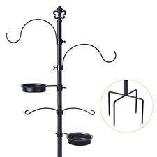 Bird Feeding Station Outdoors Pole Stand Outside Improved Version Premium Qua.