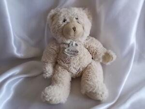 Doudou ours fourrure écru, 22 cm, Histoire d'ours