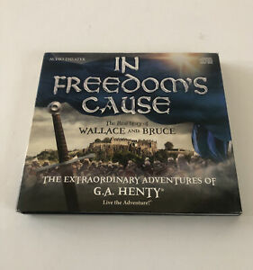 IN FREEDOM'S CAUSE Extraordinary Adventures of G.A. Henty audio adventure CD