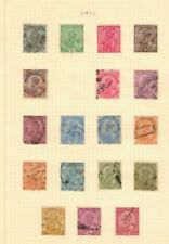 India George V collection of 62 used
