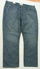 New Alexander Julian Blue Cotton Poly Denim Jeans Pants 46 Waist X 30 Inseam C6