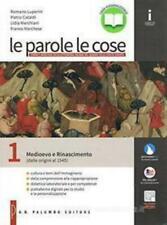 Parole e le cose vol.1 Palumbo editore scuola, codice:978868892302