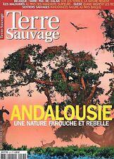Terre Sauvage  N°213  fev 2006:Andalousie Manchots surfeur Terrils Sentiers sauv