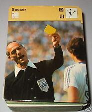 Árbitro Dubach tarjeta amarilla-Tarjeta de Coleccionista de fútbol