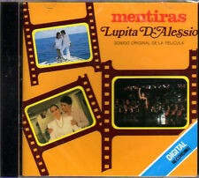 LUPITA D'ALESSIO canciones de su pelicula MENTIRAS CD NEW import from Mexico