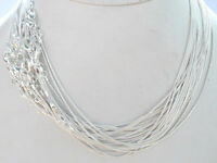 "WHOLESALE 20PCS SILVER SNAKE CHAIN NECKLACE 16""-24"",1mm"